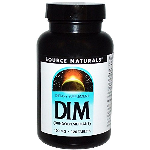 Source Naturals, DIM (Diindolylmethan), 100 mg, 120 Tabletten -