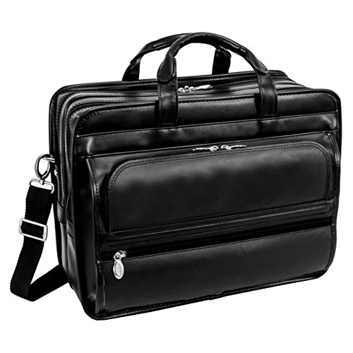 mcklein-17-inch-stetson-black-leather-double-compartment-notebook-case