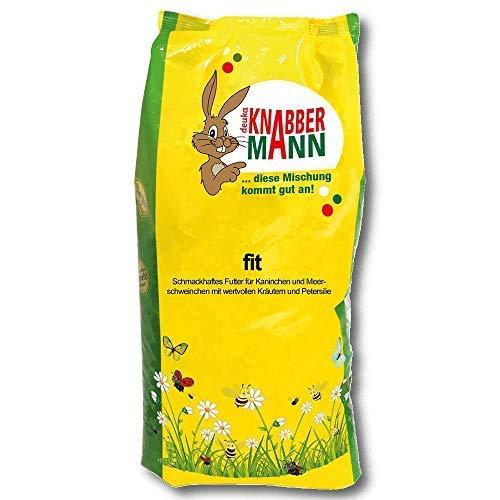Deuka Knabbermann Fit 5 kg Alimentation Du Lapin Alimentation Du Cochon D'Inde Nourriture pour Rongeurs