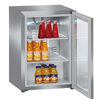 Liebherr FKv 503 Autonome Acier inoxydable réfrigérateur à boisson - réfrigérateurs à boisson (Autonome, Acier inoxydable, 3 étagères, Droite, R600a, 42 L)
