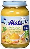 Alete Buttergemüse mit Kartoffeln und Hühnchen, 6er Pack (6 x 190 g)
