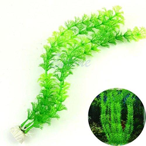 Comsun Aquarium Pflanzen 4 Pack Kunstliche Aquarienpflanzen
