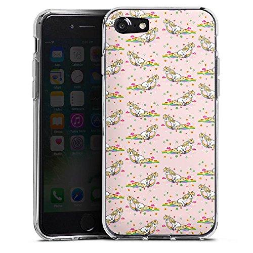 Apple iPhone X Silikon Hülle Case Schutzhülle kotze cute kawaii Silikon Case transparent