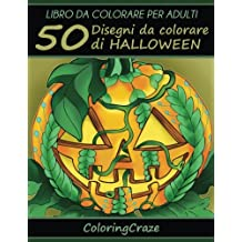 50 Disegni Da Colorare Di Halloween: Libro Da Colorare Per Adulti: Volume 11
