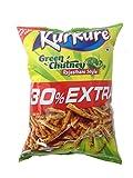 #3: Kurkure Snacks - Green Chutney, 106.6g Pack