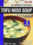 S&B Soupe Miso au Tofu 30 g