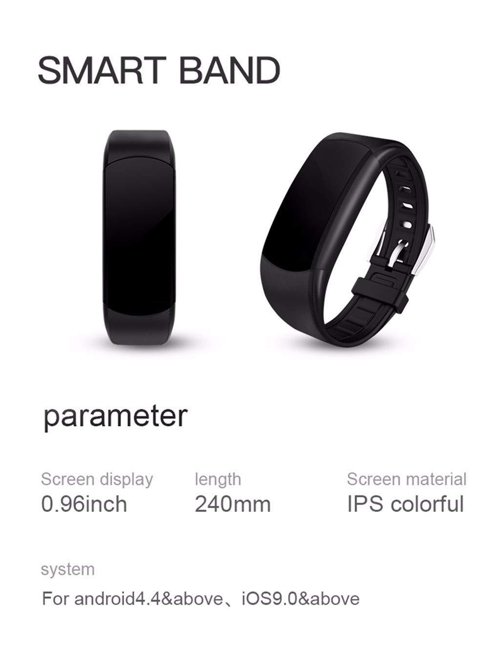 OPAKY Pulsera de Actividad Reloj Inteligente Smart Watch Deportes Fitness Actividad Monitor de Ritmo cardíaco Presión… 2