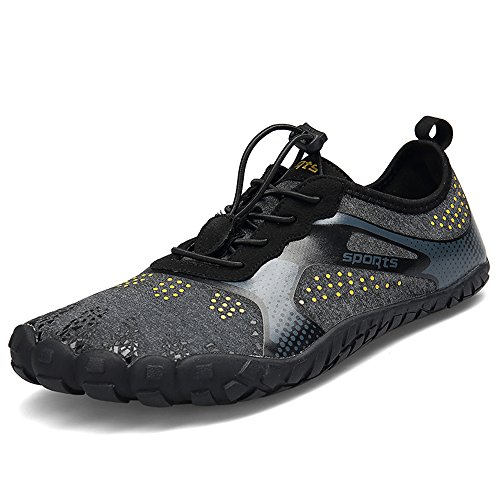 ZOEASHLEY Barfußschuhe Herren Damen Outdoor Fitnessschuhe Sommer Trekking Schuhe Gr.36-46