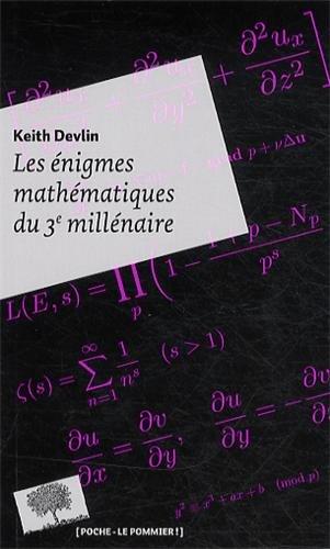Les énigmes mathematiques du 3e millénaire