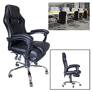51L%2B%2BJwXT6L. SS300  - huigou-HG-Silla-Giratoria-De-Oficina-Gaming-Chair-Apoyabrazos-Acolchados-Premium-Comfort-Silla-Racing-De-Carga-Altura-Ajustable