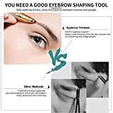 Carecroft eyebrow trimmer electric razor shaver painless hair eyebrows threading machine for Women removal tool for ladies girls
