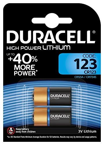 Duracell Specialty Ultra Typ 123 M3 3 V Lithium Fotobatterie, (2er - Cr2 Lithium-batterie-ladegerät