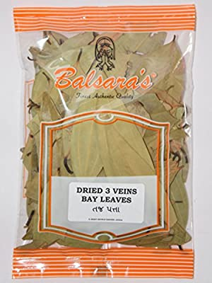 Whole Dry Bay Leaves INDIAN SPICE DRIED HERBS DRY BAY LEAF 100g by falconsuperstore