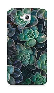 Amez designer printed 3d premium high quality back case cover for Lg Gpro Lite (flowers green)