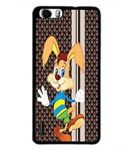 PrintDhaba Cartoon D-5796 Back Case Cover for HUAWEI HONOR 6 (Multi-Coloured)
