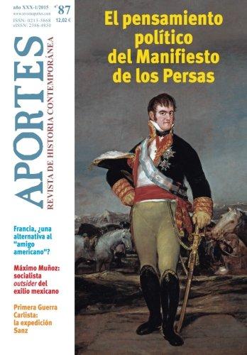 Aportes. Revista de Historia Contemporánea 87, XXX (1/2015) por Aportes. Revista de Historia Contemporánea