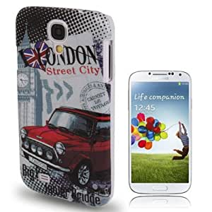 London Pattern Plastic Case for Samsung Galaxy S4 i9500