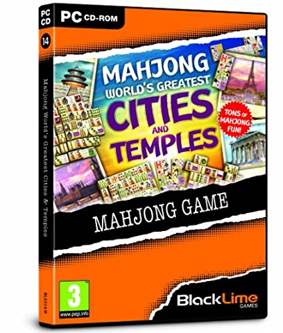 Mahjong World's Greatest Cities and Temples (PC DVD)