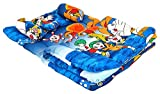 #1: Feathers-Nature's Touch Polycotton 5Pcs Baby Bedding Set Blue(0-18Months)