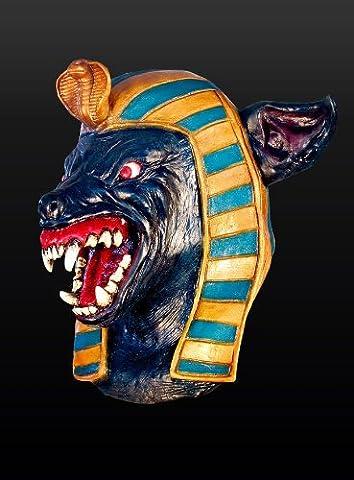 Halloween Horror Maske Anubis Wolf Werwolf Werwolfmaske Ägypter