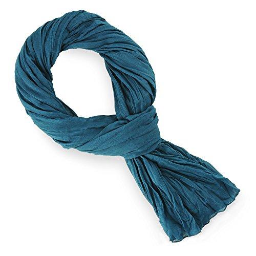 chche-coton-bleu-ptrole-uni