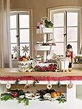 Villeroy & Boch Winter Bakery Delight Schale 'Muffin', Premium Porzellan, Braun/Weiß