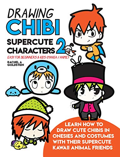 Drawing Chibi Supercute Characters 2 Easy for Beginners