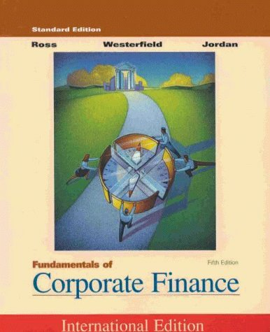 Fundamentals of Corporate Finance by S A et al Ross (2000-08-05)