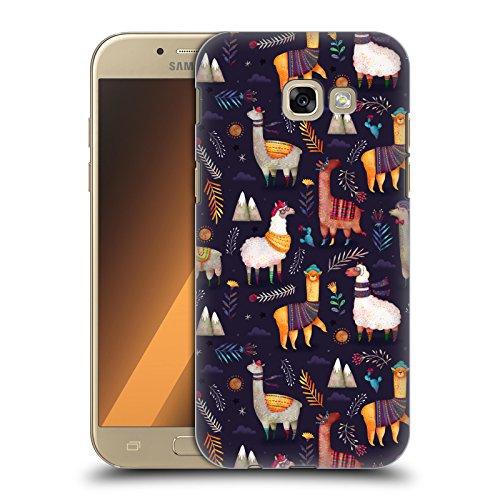 Head Case Designs Offizielle Oilikki Lamas Tiermuster Ruckseite Hülle für Samsung Galaxy A5 (2017)