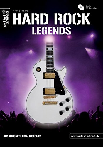 Hard Rock Legends: Die größten Gitarrenlegenden (inkl. Audio-CD). Lehrbuch für E-Gitarre. Playalongs. Songbook. Musiknoten. - Bildungs Audio-bücher -