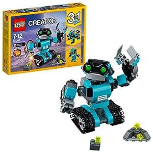 LEGO- Creator Robo Esploratore Costruzioni Piccole Gioco Bambina Giocattolo, Multicolore, 31062  LEGO