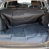 LuckyPet Kofferraumschutzdecke Kofferraumdecke Hundedecke schwarz schmutzabweisend Auto Hunde Katzen Haustiere (Code LU8020)