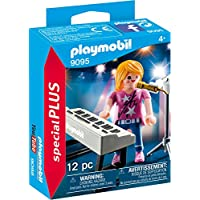 Playmobil 9095 Special Plus Singer with Keyboard Toy Set