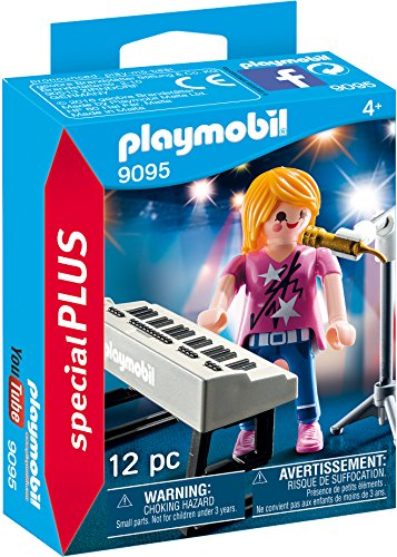 Playmobil Especiales Plus- Cantante con Órgano
