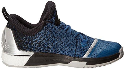 adidas Herren Crazylight Boost 2.5 Low Basketballschuhe Azul / Negro / Blanco (Azucap / Negbas / Ftwbla)