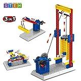 SEIGNEER Pädagogische Spielzeug Bau Set Konstruktionsspielzeug Konstruktion Bauspielzeug Bau Spielzeug