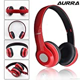 Aurra Extra Bass Bluetooth Headphone with SD Card Support/FM Radio and Aux Support