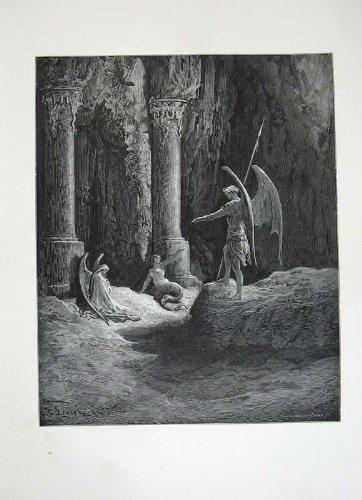 Portone Perso 1870 di Angeli del Paradiso di Milton della Galleria di Dore - Paradise Gallerie