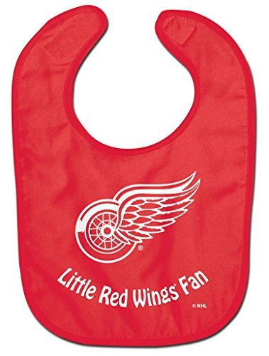 NHL Detroit Red Wings WCRA2063814 All Pro Baby Bib by McArthur -
