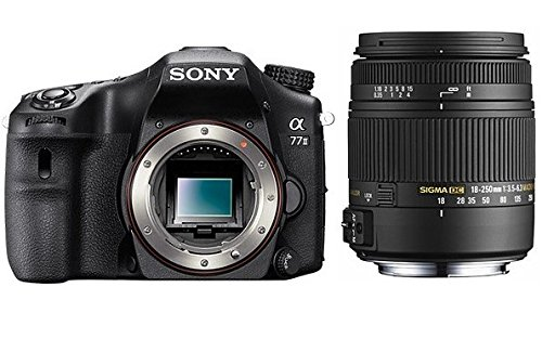 Sony α77 II + Sigma 18-250mm Kit fotocamere SLR 24,3 MP CMOS 6000 x 4000 Pixel Nero