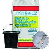 Pökelsalz jodiert 0,85<1,0% Nitritsalz Siedesalz Pökeln Salz 1kg Eimer Schaufel
