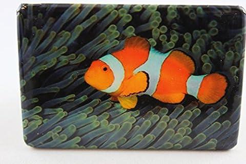 Clown En Porcelaine - Corn elißen–1023553–Aimant, poisson clown, Porcelaine, 7,5cm x
