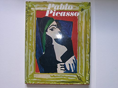 Hommage a Pablo Picasso - mit einer Orig.-Farb-Lithographie Picassos