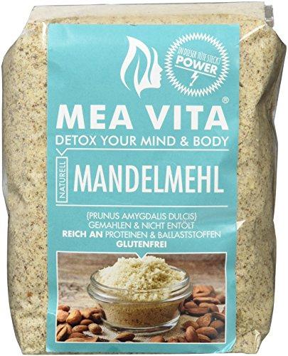 Preisvergleich Produktbild MeaVita Mandelmehl,  naturell,  Premium Qualität,  im Beutel,  1er Pack (1 x 500 g)