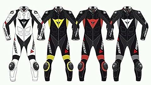 Dainese GP Plus cuir Moto Sports Race Suit fabriqué sur mesure