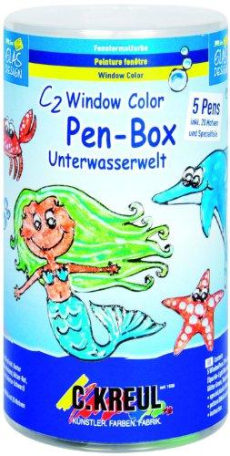 2 Window Color Pen Box Unterwasserwelt ()