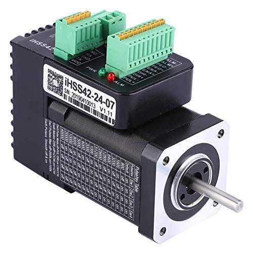 iHSS42-24-07 NEMA17 24 V 1,2 A 2-phasiger integrierter Schrittmotor mit geschlossenem Regelkreis 0,7 Nm Hybrid-Servomotor, geschlossener Regelkreis, präzise Positions- und Geschwindigkeitsregelung -