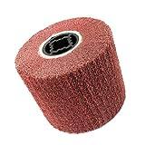FLAMEER Schleifrad Vlies-Gewebe, geeignet für Manifold, Aluminium, Edelstahl, Chrom usw - 320#
