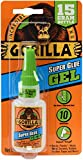 Gorilla 4044400 15g Superglue Gel - Clear