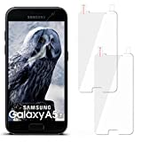 moex 2X Samsung Galaxy A5 (2017) | Schutzfolie Klar Display Schutz [Crystal-Clear] Screen Protector Bildschirm Handy-Folie Dünn Displayschutz-Folie für Samsung Galaxy A5 2017 Displayfolie